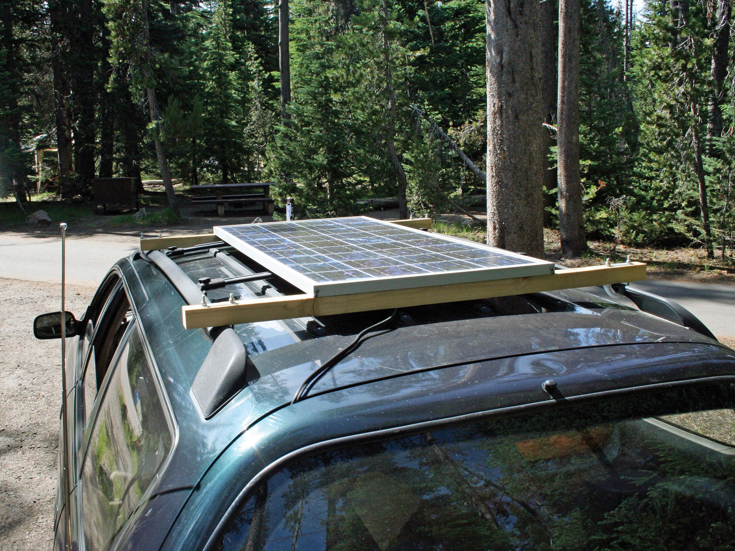 Solar Car Subwoofer Make