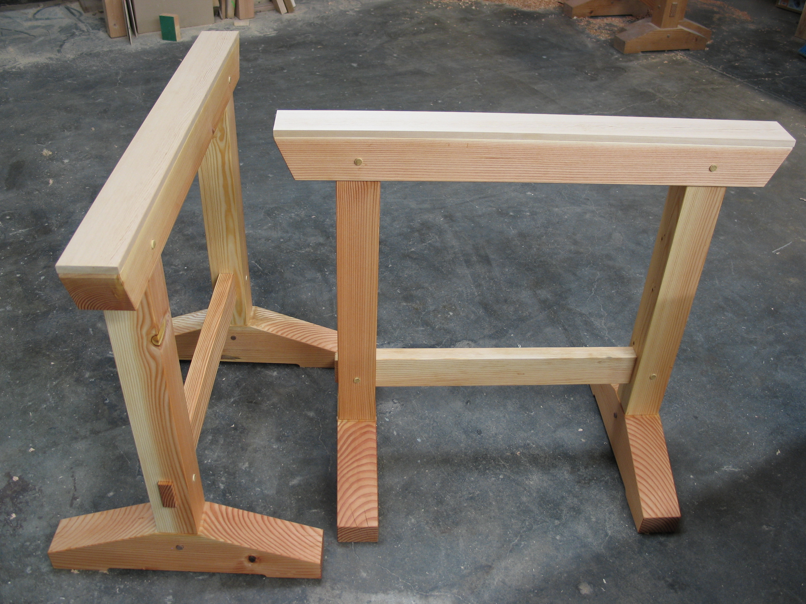 Build These Shop Horses With Simple Joinery Make