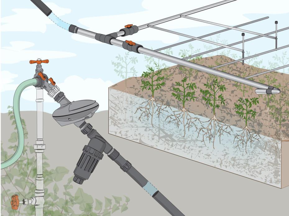 Drip Irrigation Basics Make