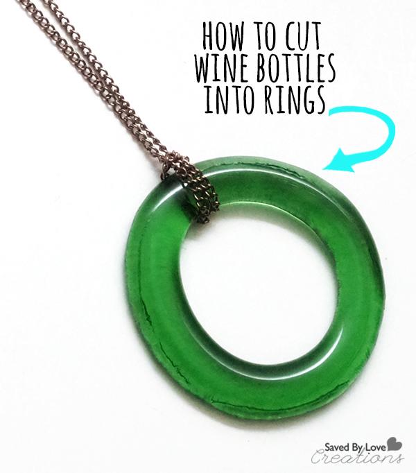 how to cut wine bottles into rings make. Black Bedroom Furniture Sets. Home Design Ideas