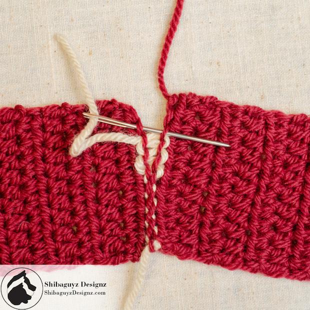 Crochet Tips : Crochet Tips: Locking Mattress Stitch Make: