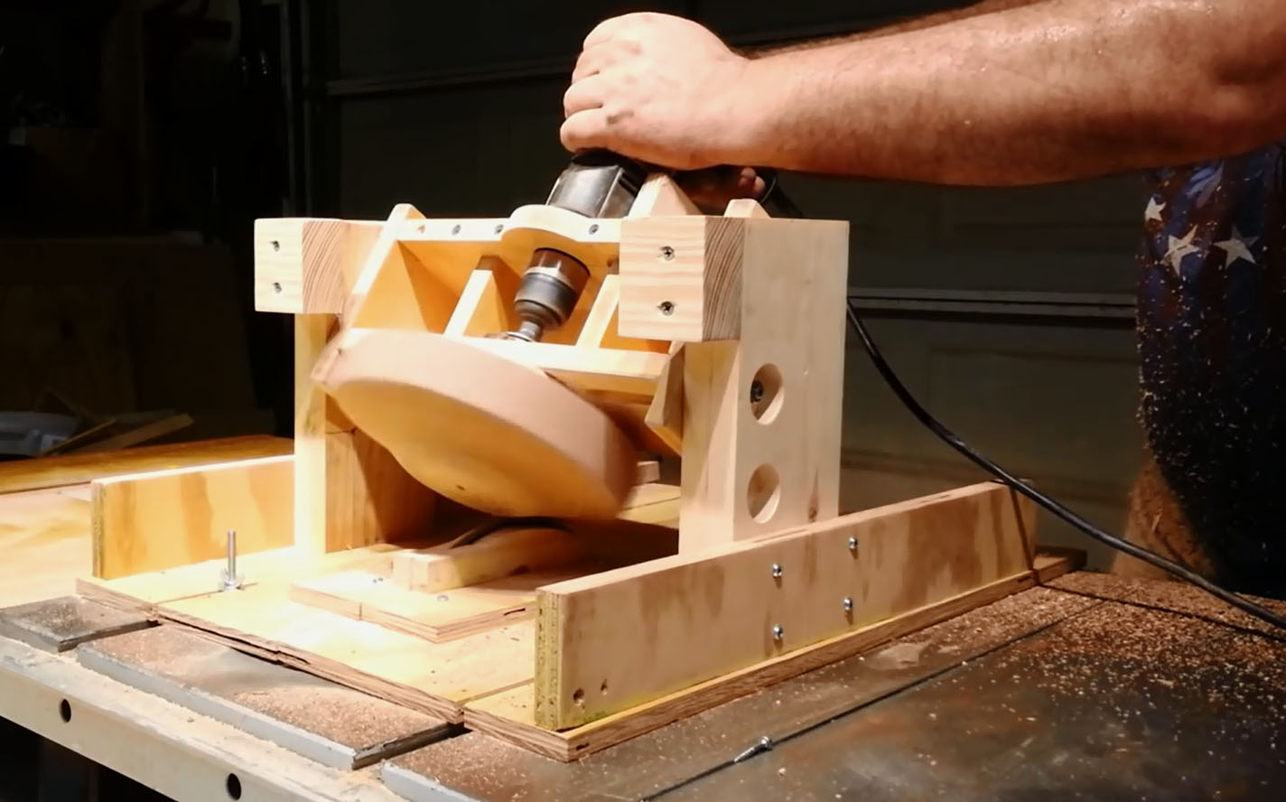 How To Turn A Bowl With A Table Saw Make
