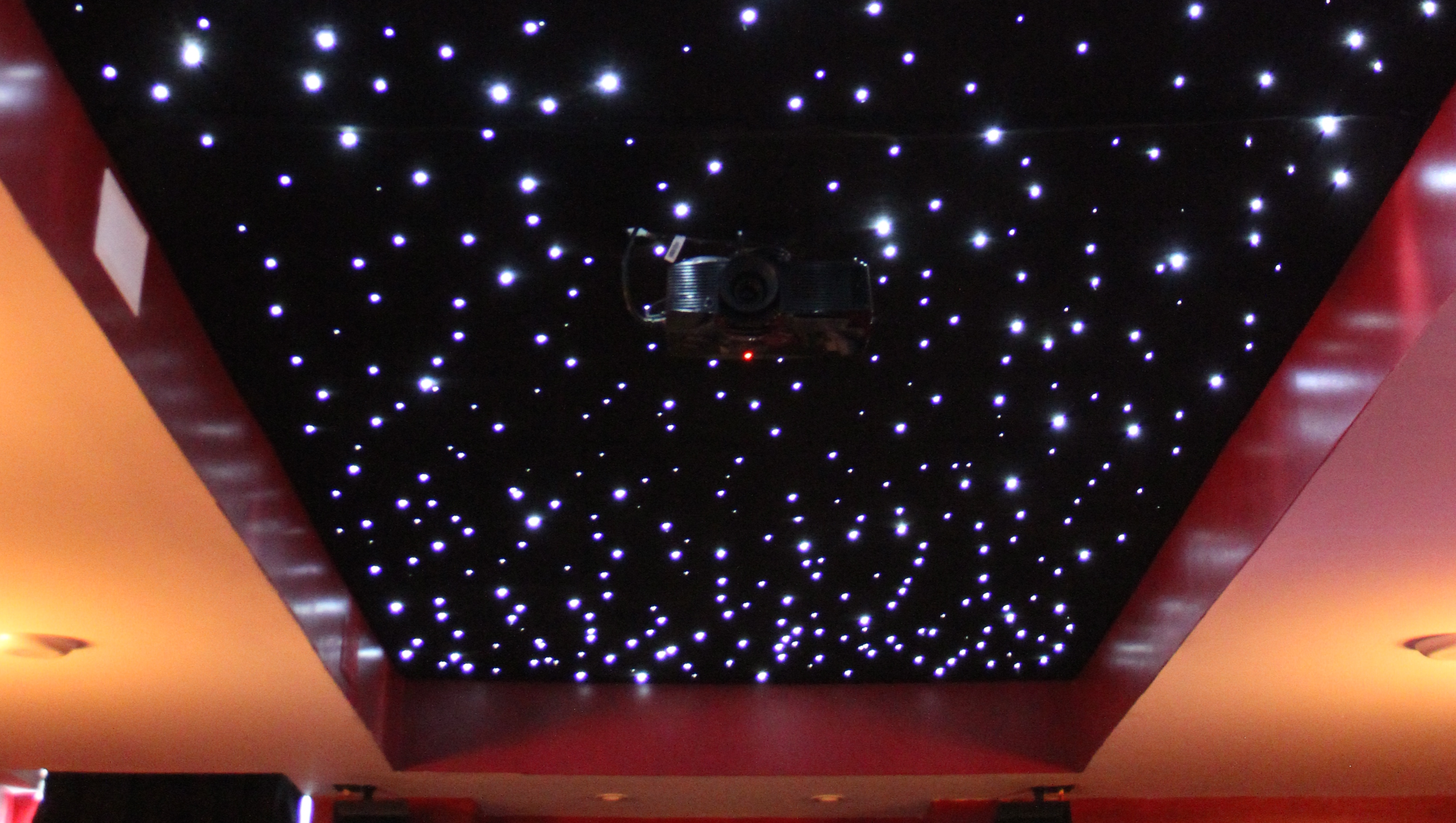 Installing A Fiber Optic Starfield Ceiling Make