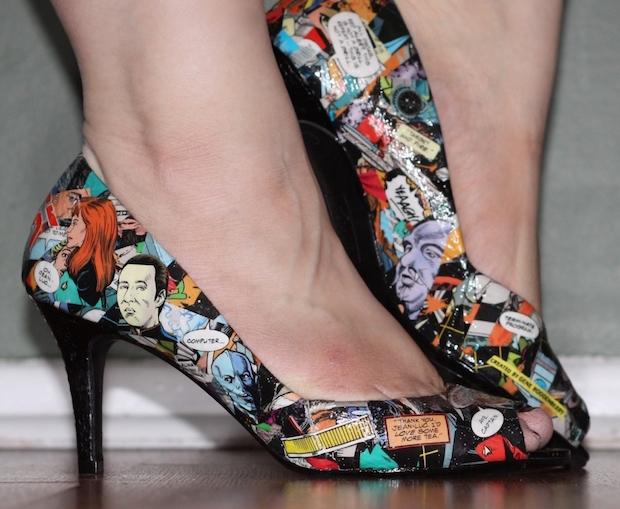 DIY Fashion: Comic Book Shoes | Make: