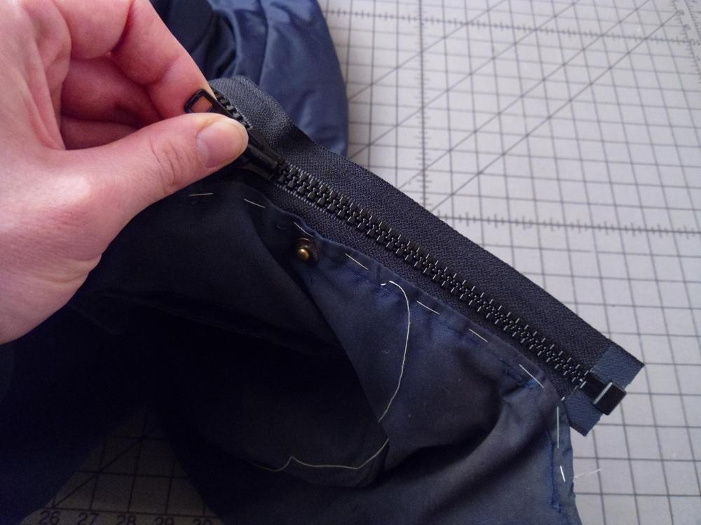 how to fix a broken zipper on a jacket