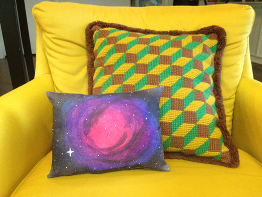 How-To: Nebula Pillow