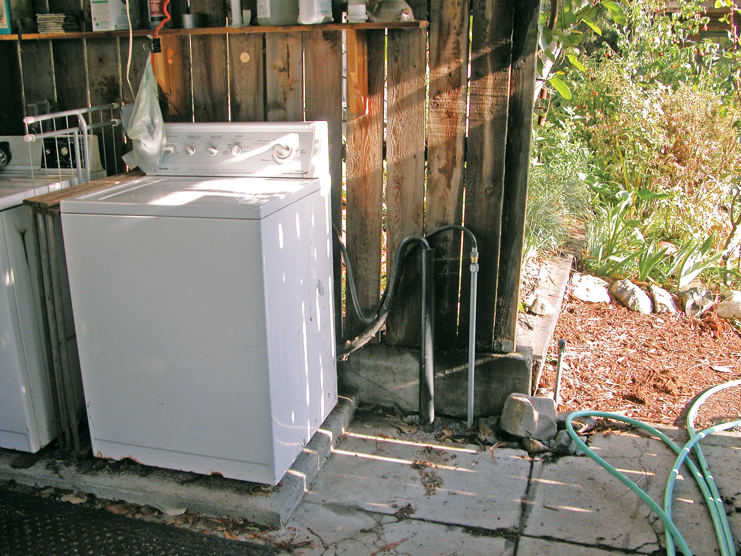 Backyard Graywater System Make