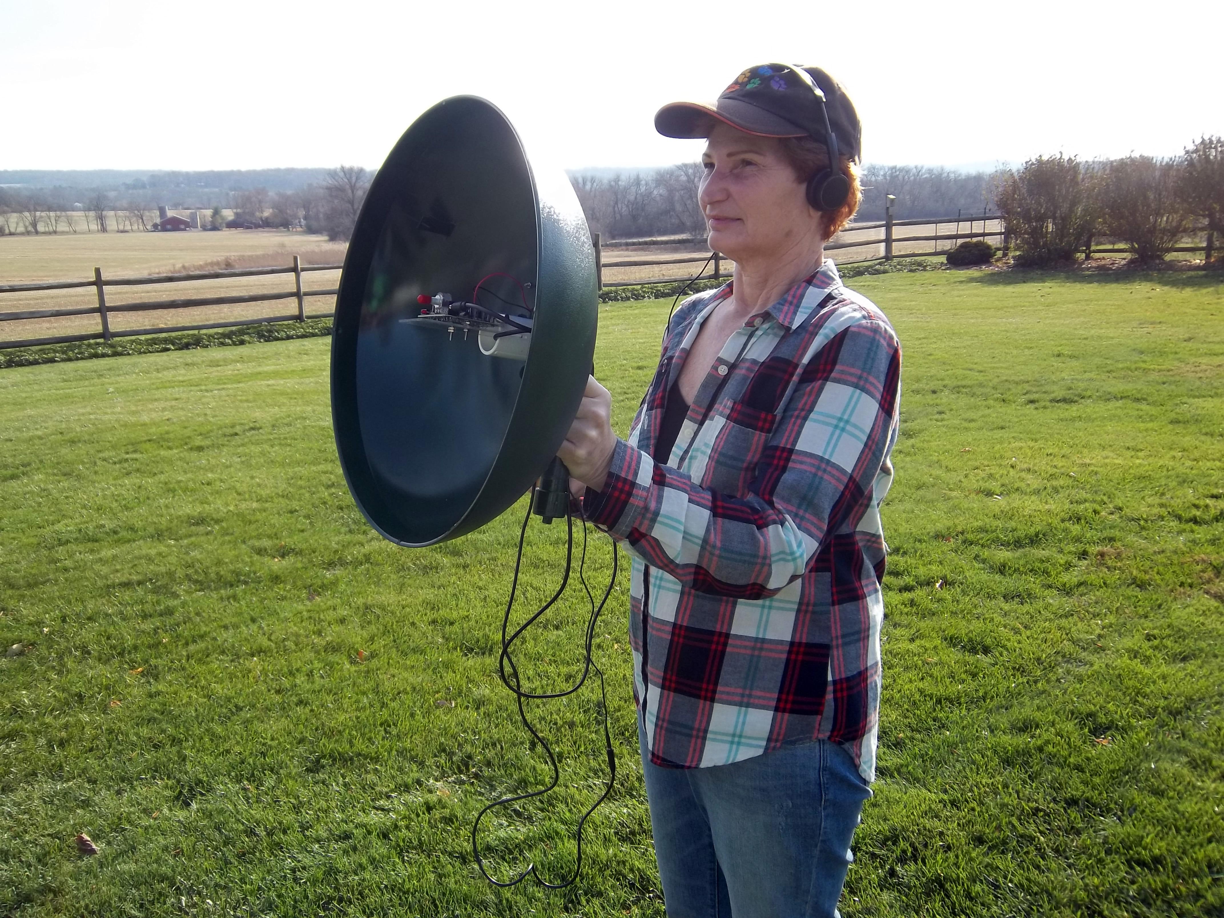 Squirrel-Baffle Spy Parabolic Microphone | Make: