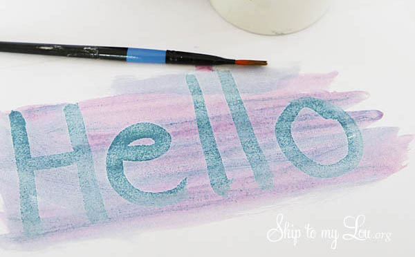 how to send message with invisible ink