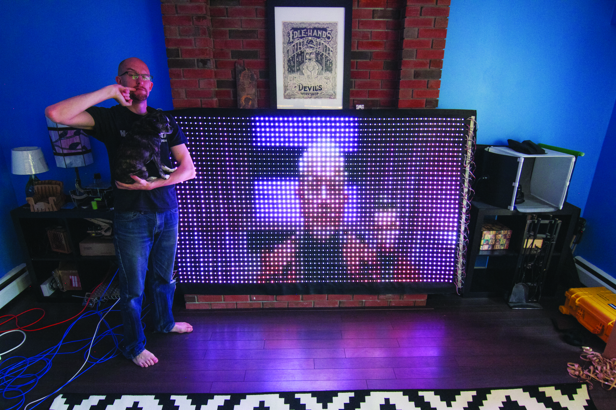 Construct a Giant LED VideoScreen