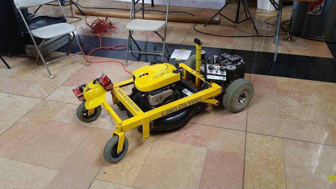 Build A Remote Controlled Lawn Mower Make