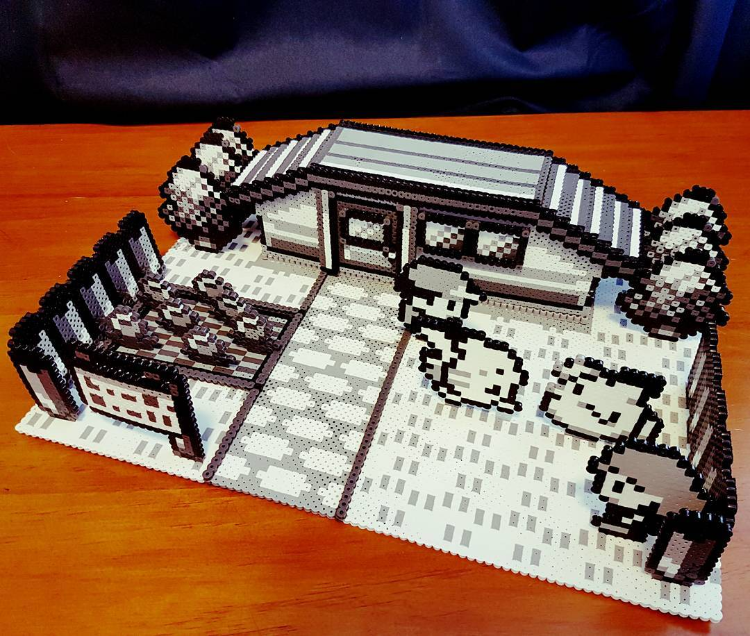 Perler beads go 3d with this incredible pokemon diorama make - Supports magazines simples fois tres design ...