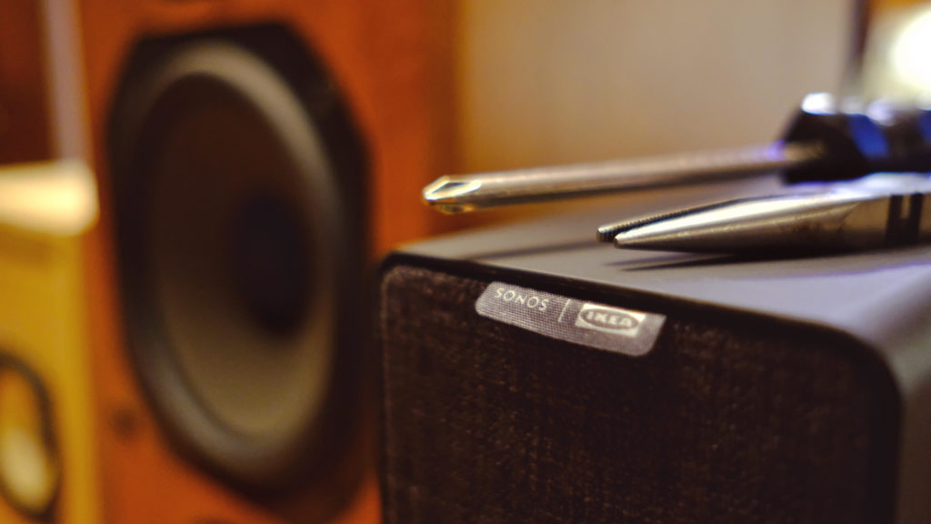 Hacking the Sonos Ikea Symfonisk Into a High Quality Speaker Amp | Make: